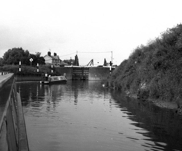 Diglis Locks, River Severn, Worcester