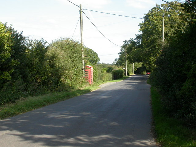 Tiptoe, phone box