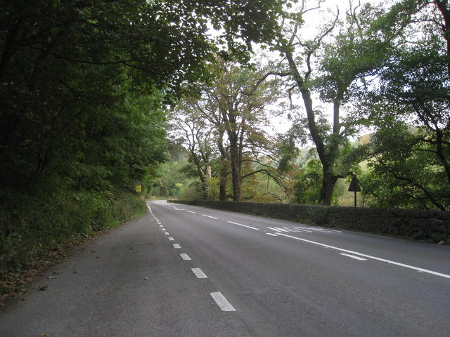 A6 view towards Wye Dale