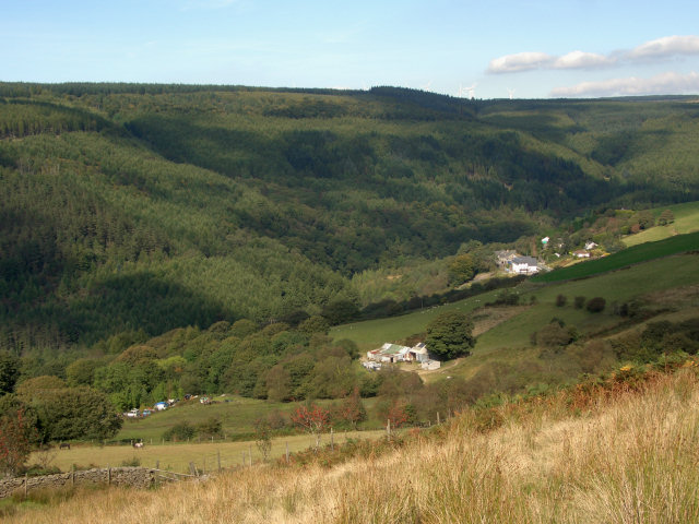 A view of the Afan Valley