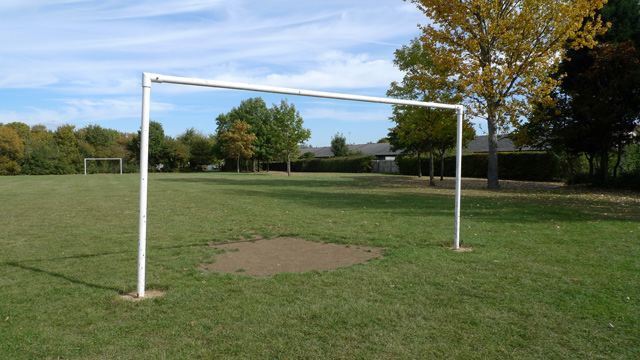Goal Posts at Beanhill, Milton Keynes.
