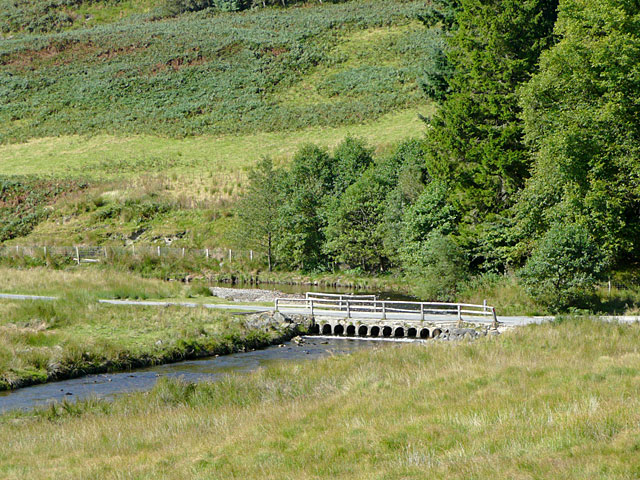 Irish Bridge in upper Cwm Irfon, Powys