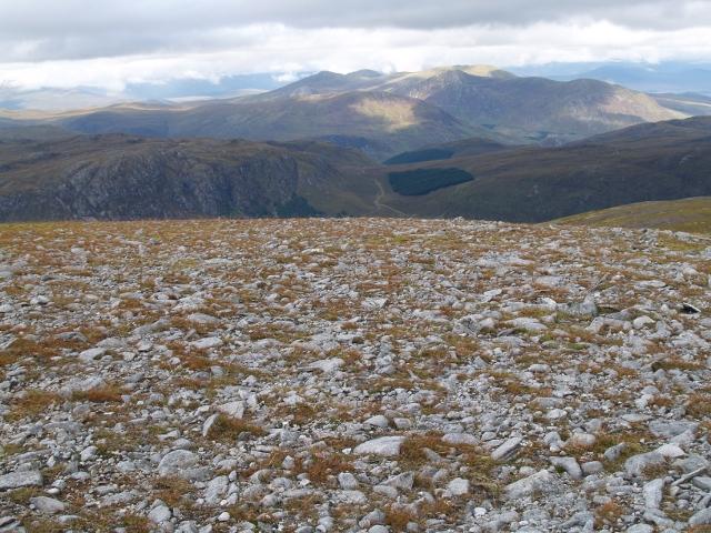 Boulder field, Carn nan Gobhar