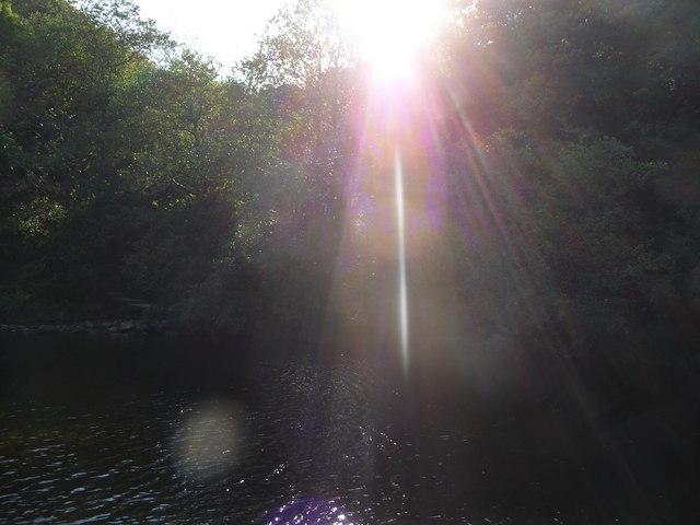 Exmoor : Sunlight & the River Barle