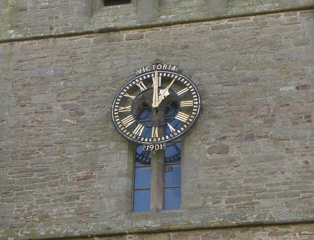 Madley Church Clock