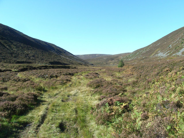 Shiel of Glentanar West