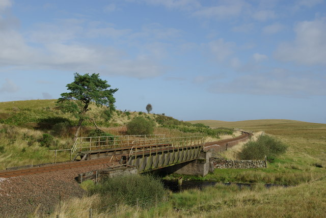 Railway bridge over the Cross Water of Luce