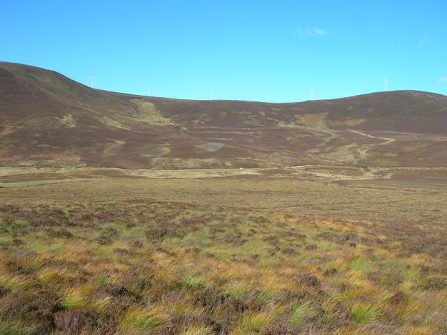 Strath Mor moorland