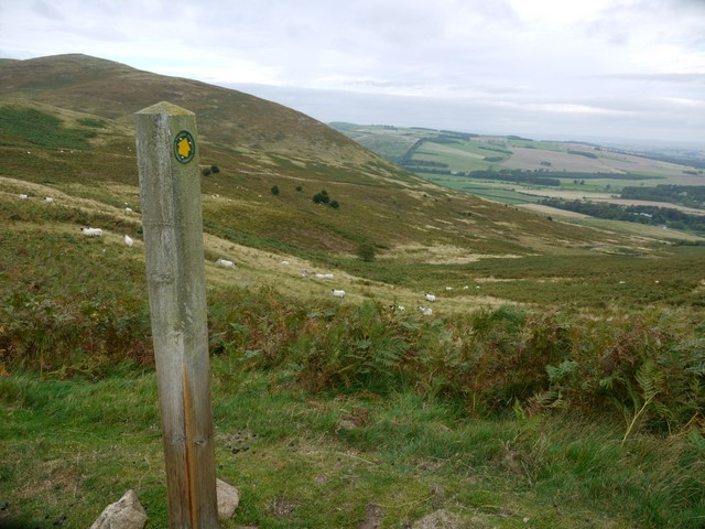 Permissive footpath west of White Law