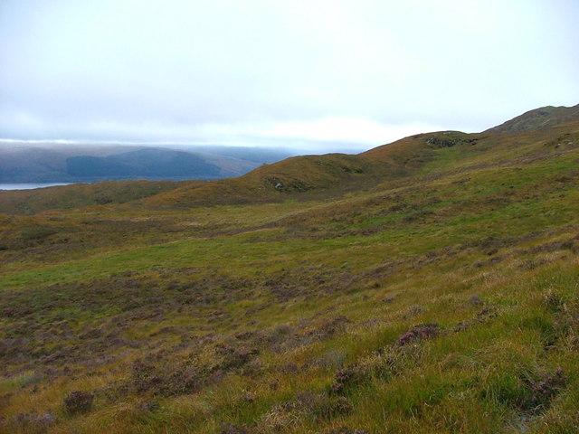 Ridge above Scotstown