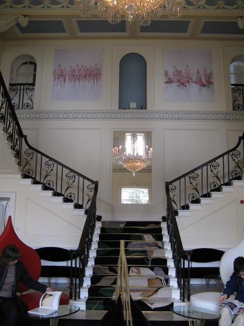 Staircase in Duddingston House