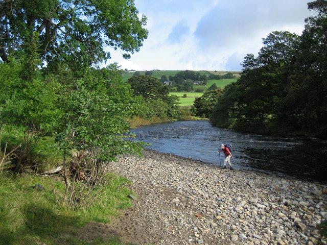 River Tees near Leekworth