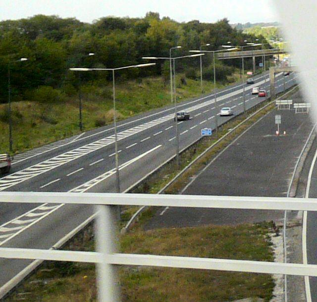 M60 from Brinnington Bridge