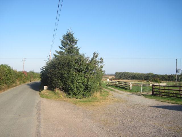 Caravan site entrance