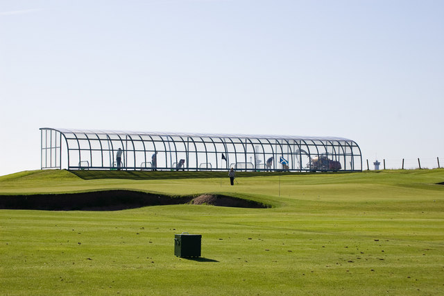 Driving Range at Murcar Golf Course