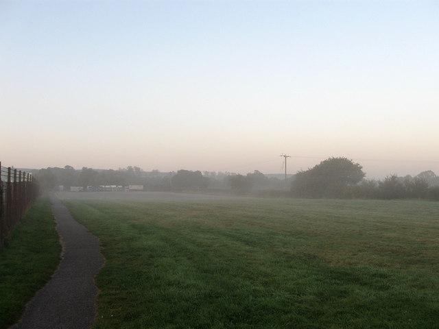 Overspill Car Park, Plumpton Racecourse