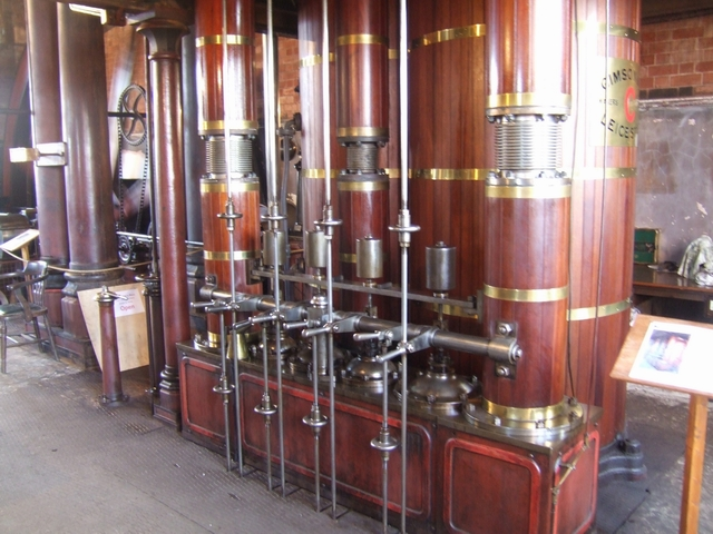 'C engine' Claymills Pumping Station