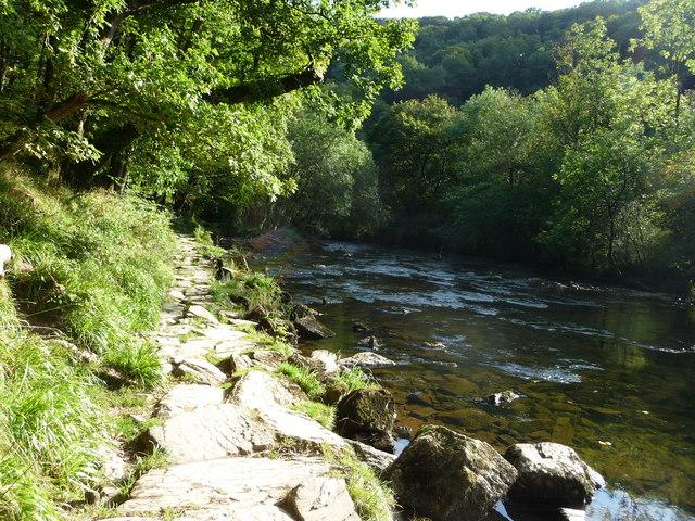 Exmoor : Riverside Path & River Barle