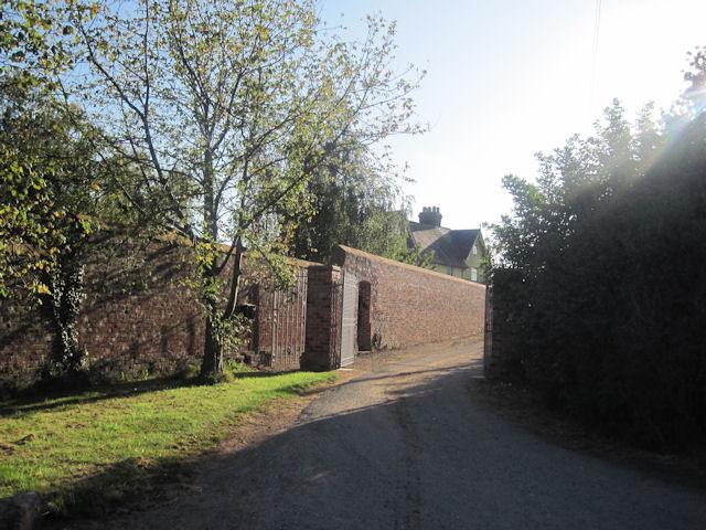 Alderton Hall entrance