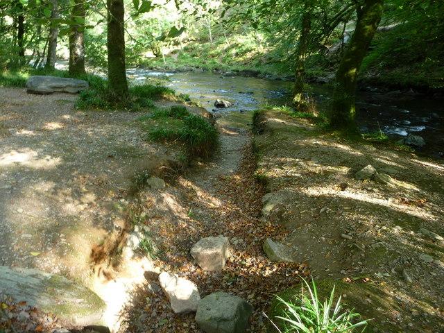 Exmoor : Dry Stream & River Barle