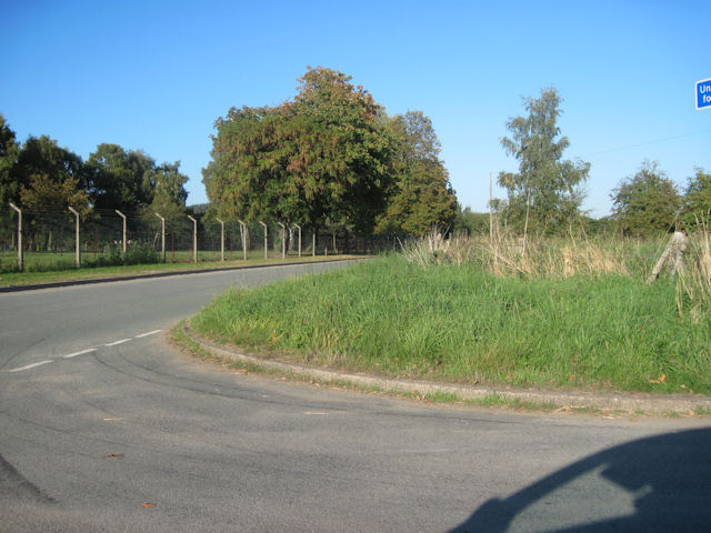 Road junction opposite Nesscliff Camp