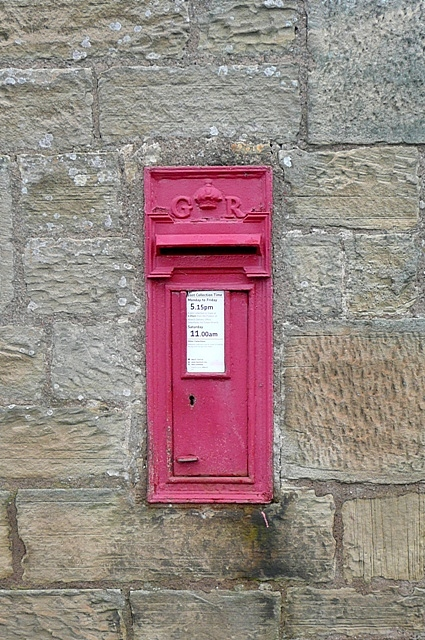 Postbox at Branton