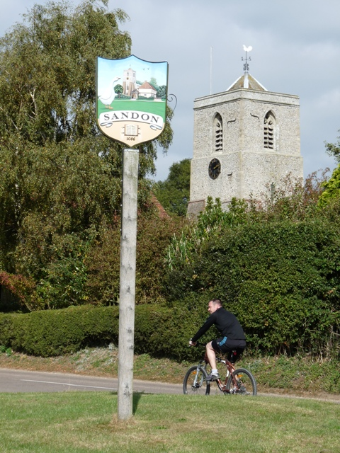 Sandon Village Sign