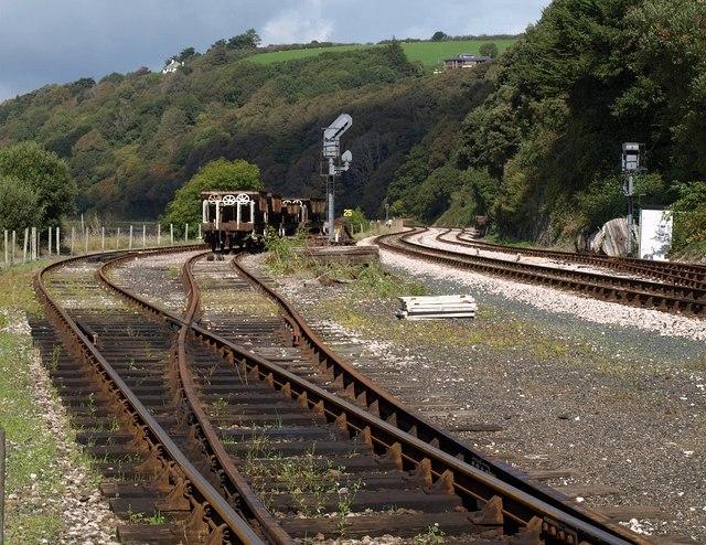 Railway sidings, Kingswear