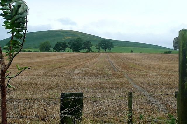 Footpath towards East Hill