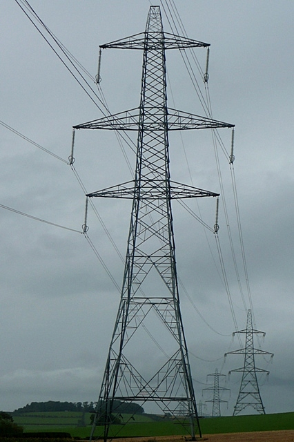 Pylons at Branton