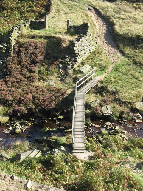 Bridge over Marsden Clough