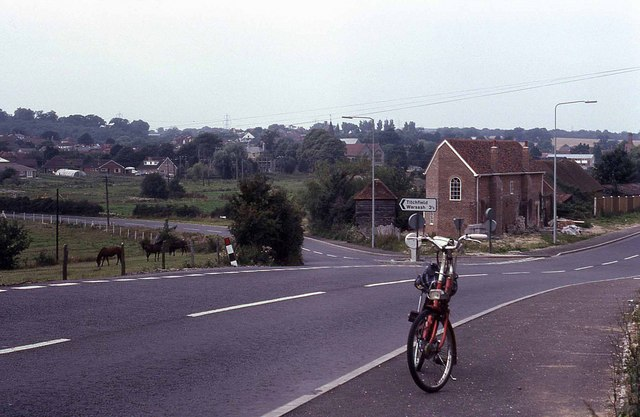 Junction of Titchfield Road and Bridge Street (1978)