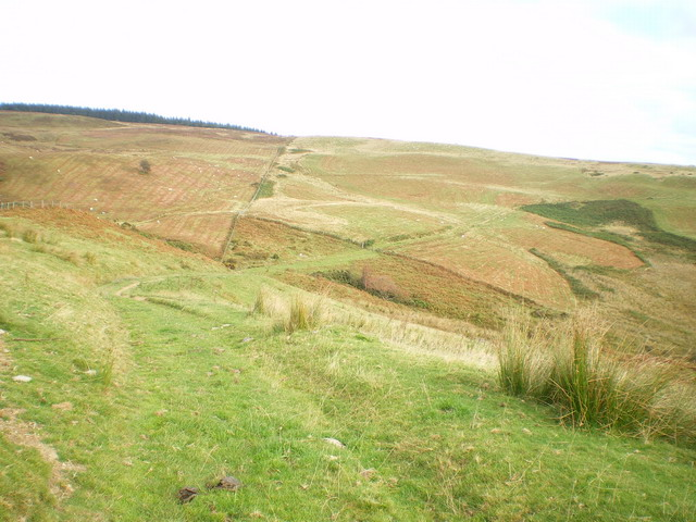 The old road - across the moors