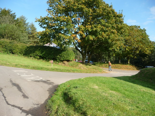 Exmoor : Tarr Steps Car Park Exit