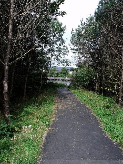 Woodland walk around Broadwood