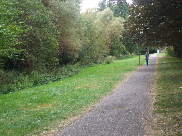 Footpath between Harcourt Way and Boxhill Walk