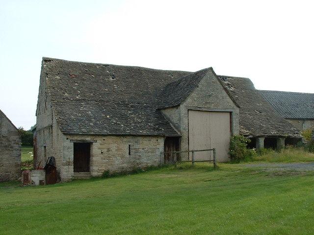 Old Barn at upper Coberley