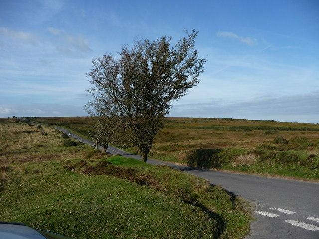 Exmoor : The B3223 Road & Moorlands