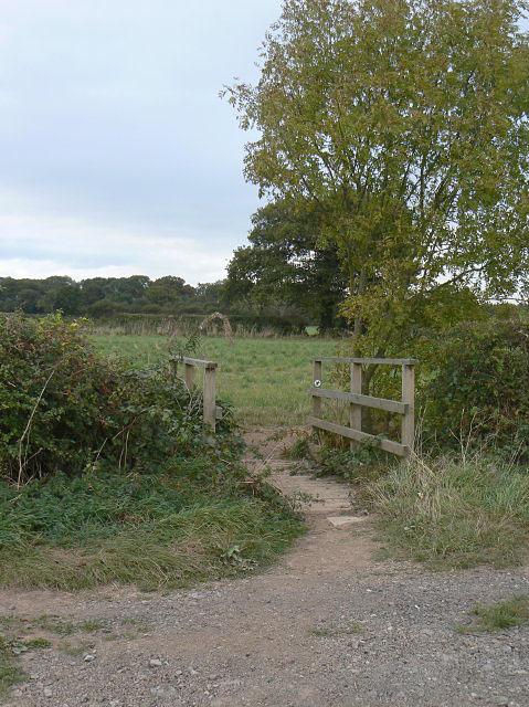 Footbridge near Hagg Cottage
