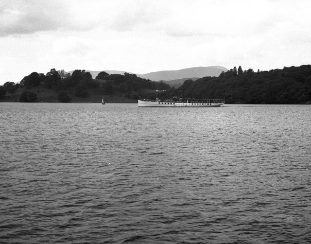 MV 'Swift' on Lake Windermere