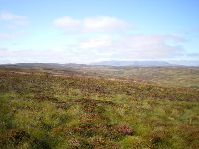 High moor above Hafod Fudr