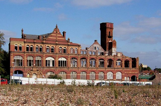 Former Co-operative Wholesale Society factory, Belmont Row