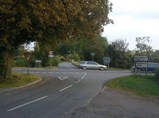 A612 at Gonalston