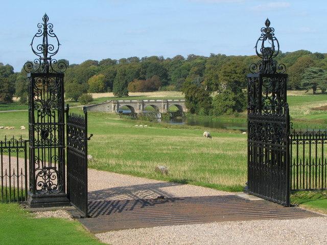 Kedleston Hall - Front Gates