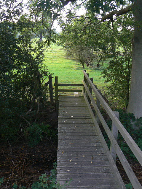 Footbridge near Gonalston
