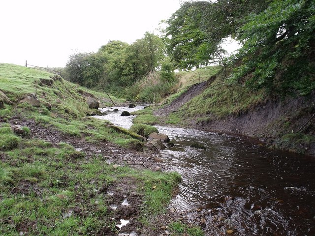 Brown's Burn below Stepends Road