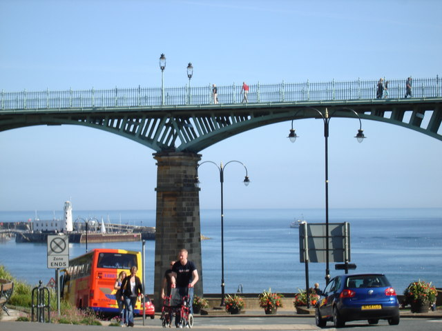 Pedestrian footbridge, Scarborough
