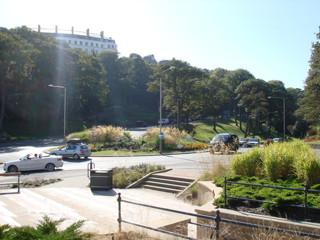 Ramshill Road/Valley Road roundabout , Scarborough
