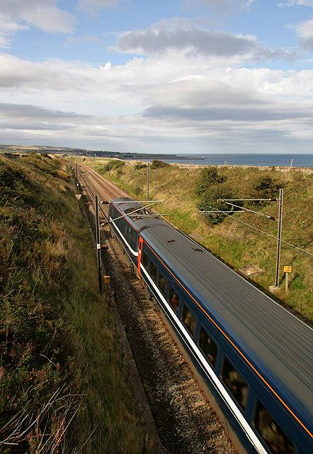 The East Coast Railway Line