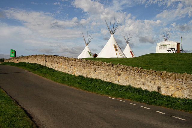 Wigwams at Borewell